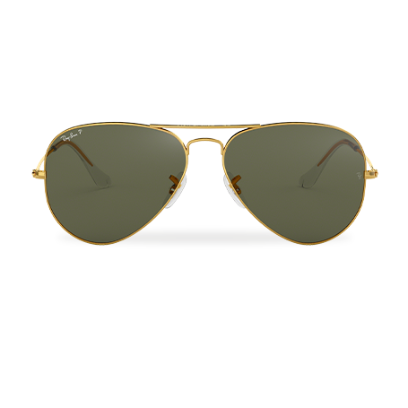 7ccacc874f Ray-Ban AVIATOR CLASSIC Gold with Green Classic G-15 lens