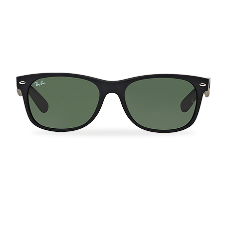 93f498835 Ray-Ban NEW WAYFARER CLASSIC Black with Green Classic G-15 lens