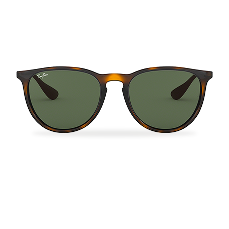 07a8ec870b24 Ray-Ban ERIKA CLASSIC Tortoise with Green Classic lens