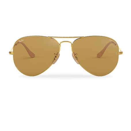 Ray-Ban AVIATOR EVOLVE Gold with Brown Photocromic lens