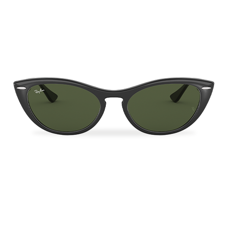 4a284ee73 Ray-Ban NINA Black with Green Classic G-15 lens
