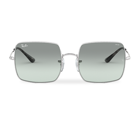 Ray-Ban SQUARE EVOLVE Silver with Light Blue Photocromic lens
