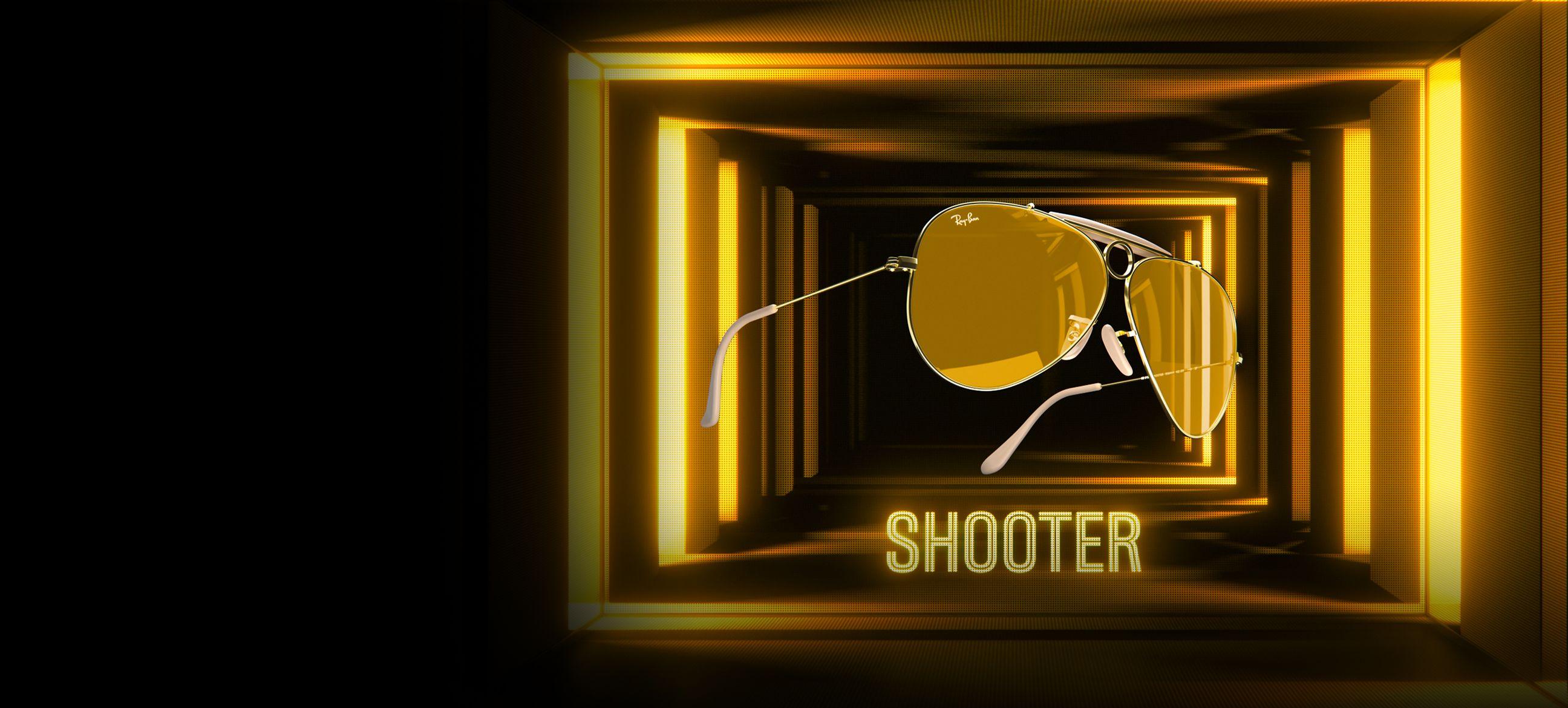 Edición Limitada Ray-Ban Shooter Ambermatic